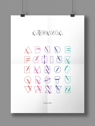 Anemoia Typeface Poster