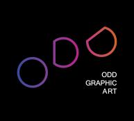 ODD Logo, Black Background