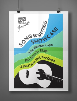 Songwriting Showcase Poster